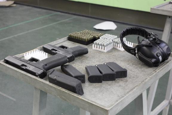 Glock 34-й калибра 9-мм, Glock 36 .45-го калибра